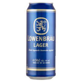 Löwenbräu világos sör 4% 0,5 l