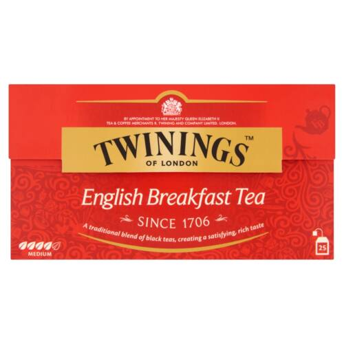 Twinings English Breakfast fekete tea 25 filter 50 g