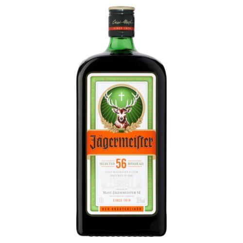 Jägermeister gyógynövény likőr 35% 1 l