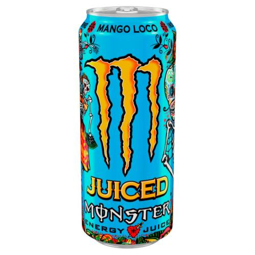 Monster Energy Juiced Monster Mango Loco szénsavas vegyesgyümölcs energiaital 500 ml