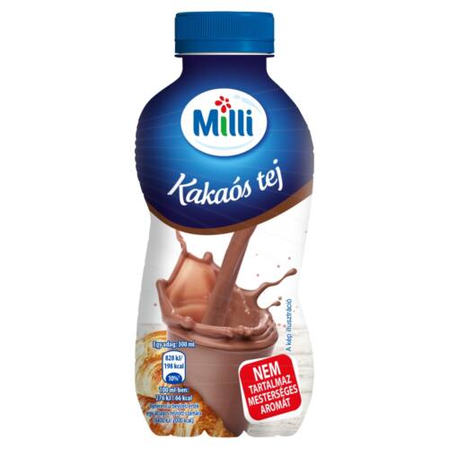 Milli UHT zsírszegény kakaós tej 300 ml
