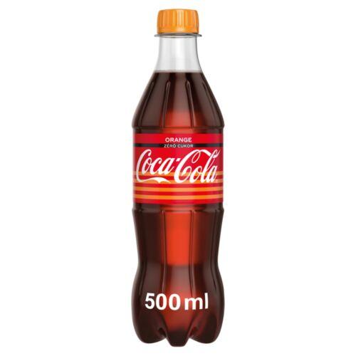 COCA-COLA NARANCS ZERO 0,5L