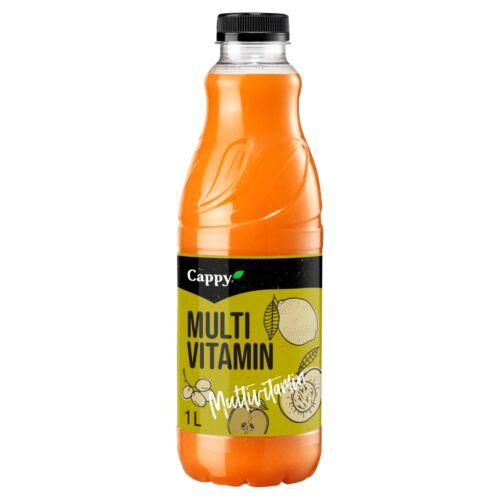 Cappy Multivitamin vegyesgyümölcs nektár hozzáadott vitaminokkal 1 l