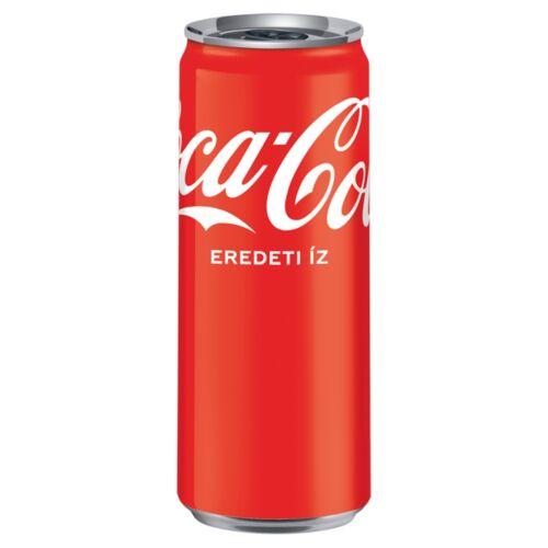 COCA COLA 0,33L DOBOZOS