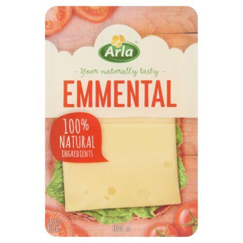 Arla szeletelt, ementáli típusú zsíros, kemény sajt 150 g
