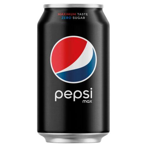 Pepsi Max colaízű energiamentes szénsavas üdítőital édesítőszerekkel 330 ml