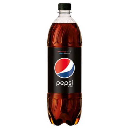 Pepsi Max colaízű energiamentes szénsavas üdítőital édesítőszerekkel 1 l