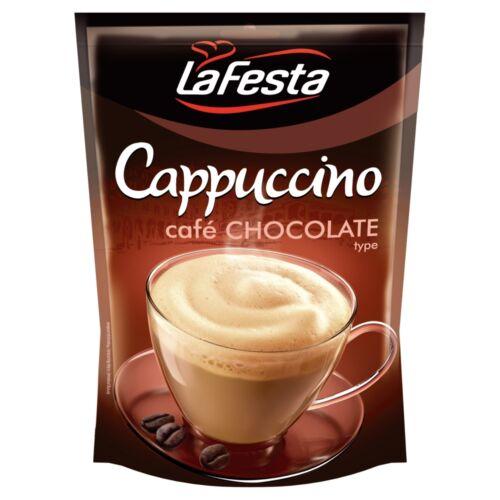 La Festa Cappuccino csokoládéízű instant kávéitalpor 100 g