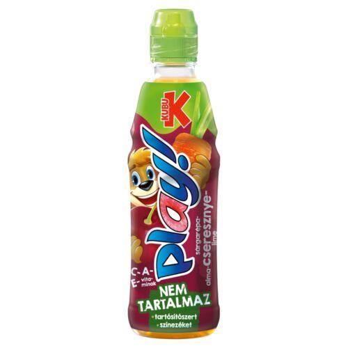 Kubu Play! sárgarépa-alma-cseresznye-lime ital 400 ml