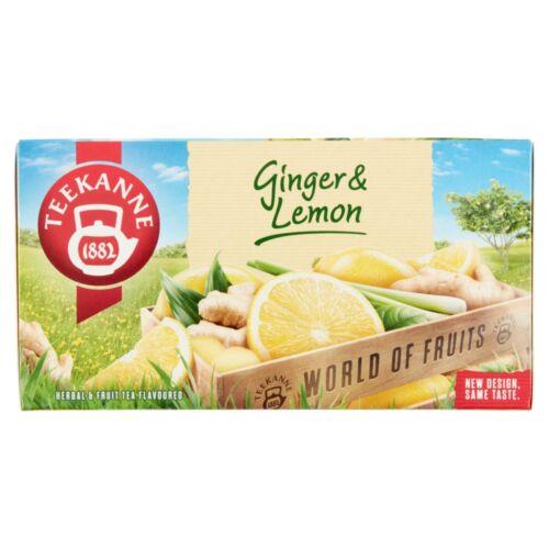 TEEKANNE GINGER LEMON 20*1,75GR TEA