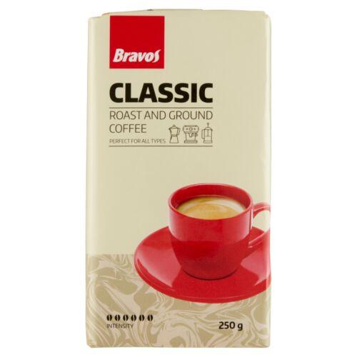 Bravos Classic őrölt, pörkölt kávé 250 g