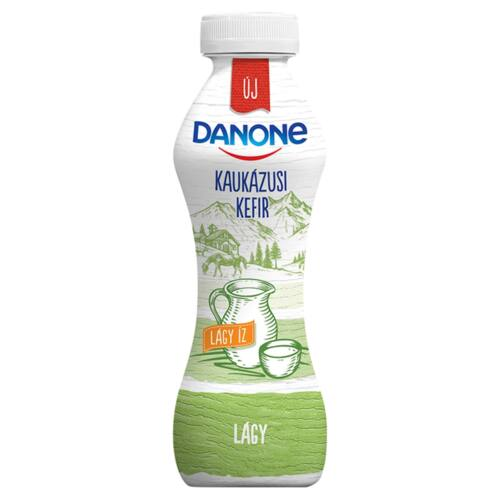 Danone enyhén savanyú, zsírszegény, élőflórás, lágy kaukázusi kefir 350 g