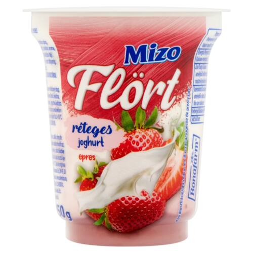 Mizo Flört epres réteges joghurt 150 g
