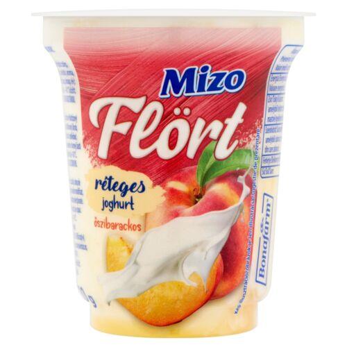 Mizo Flört őszibarackos réteges joghurt 150 g