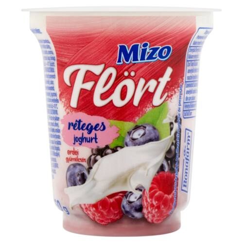 Mizo Flört erdei gyümölcsös réteges joghurt 150 g