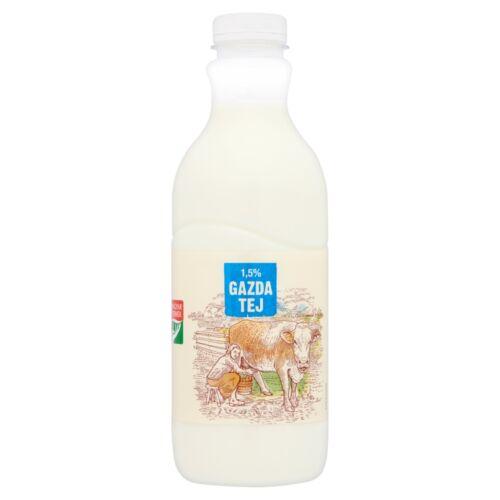 Gazda zsírszegény tej 1,5% 1 l