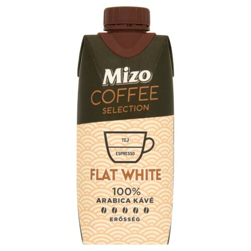 Mizo Coffee Selection Flat White UHT félzsíros kávés tej 330 ml