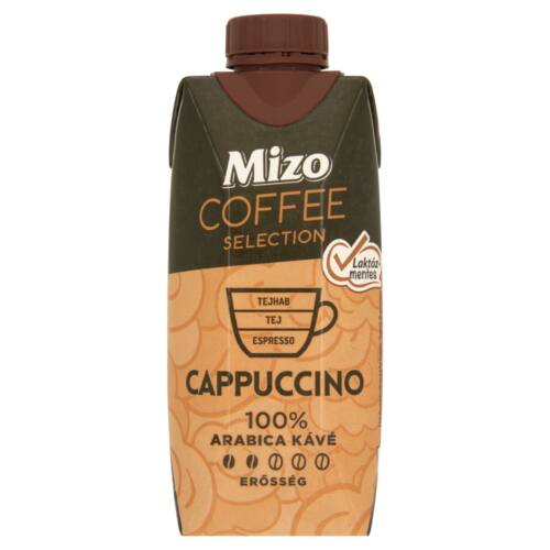 MIZO COFFEE LM.CAPPUCCINO 330ML 100% ARRABICA KAVE