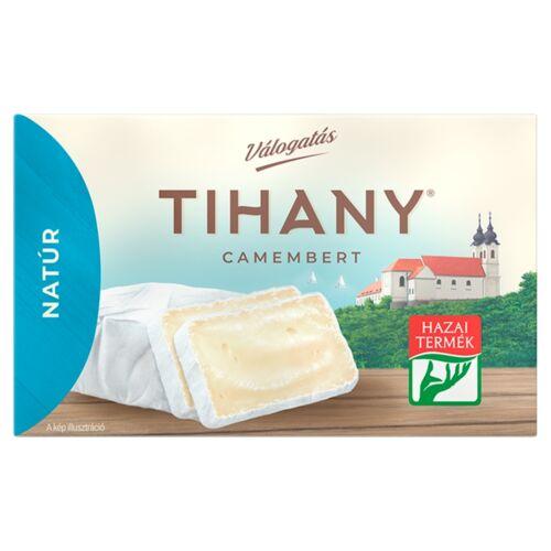 Tihany Válogatás Camembert natúr zsíros lágysajt 120 g