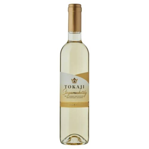 Grand Tokaj Tokaji Sárgamuskotály késői szüretelésű édes fehérbor 10,5% 0,5 l