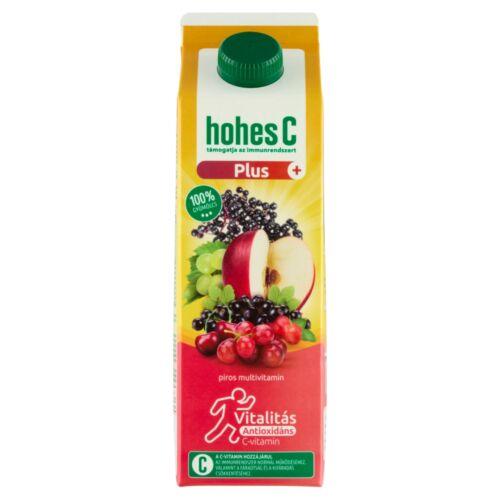Hohes C Plus+ Antioxidáns Red Multivitamin 100% vegyes gyümölcsital 1 l