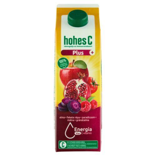 Hohes C Plus+ Vas alma-gránátalma-málna vegyes gyümölcs-zöldséglé 1 l
