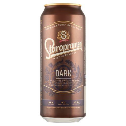 STAROPRAMEN DARK 0,5L DOBOZOS