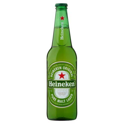 Heineken minőségi világos sör 5% 0,5 l üveg
