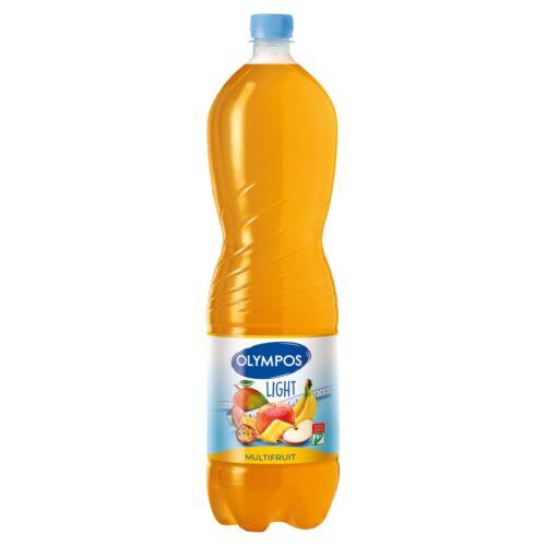Olympos Light Multifruit energiaszegény vegyes gyümölcs üdítőital édesítőszerekkel 1,5 l