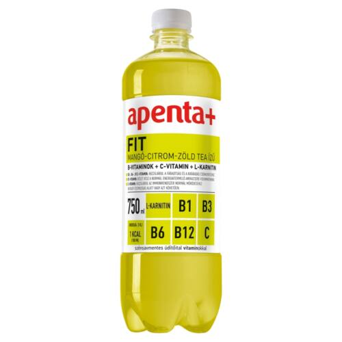 APENTA + FIT MANGO-CITROM-Z.TEA 750ML SZENSAVMENTES