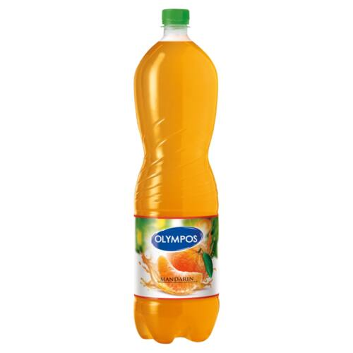 Olympos mandarin üdítőital cukorral és édesítőszerekkel 1,5 l