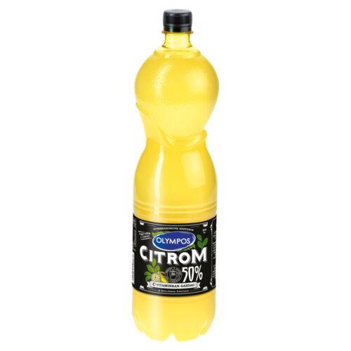 Olympos citrom ízesítő 50% citromlé tartalommal 1,5 l
