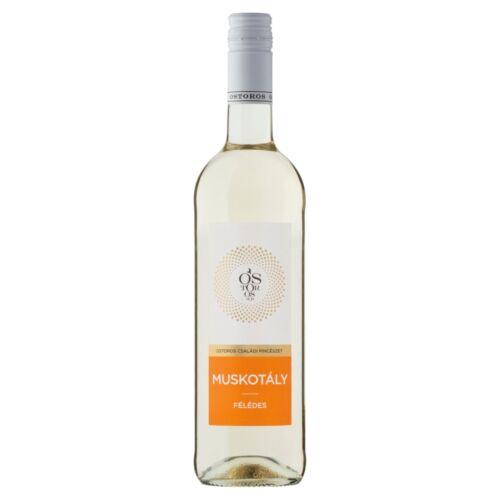 Ostorosbor Felső-Magyarországi Muskotály félédes fehérbor 11,5% 750 ml