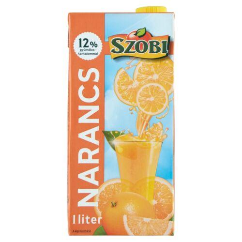 Szobi rostos narancsital cukorral és édesítőszerekkel 1 l