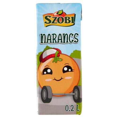 Szobi narancsital cukorral és édesítőszerekkel 0,2 l