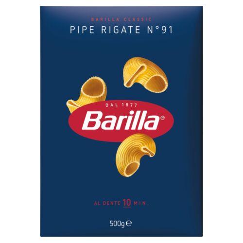 Barilla Pipe Rigate apró durum száraztészta 500 g