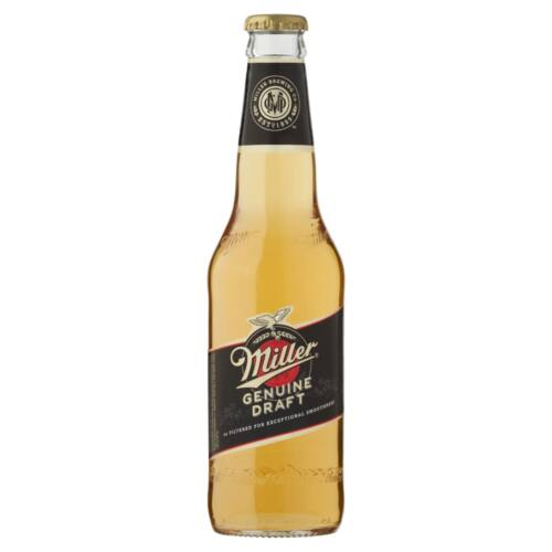Miller Genuine Draft világos sör 4,7% 330 ml