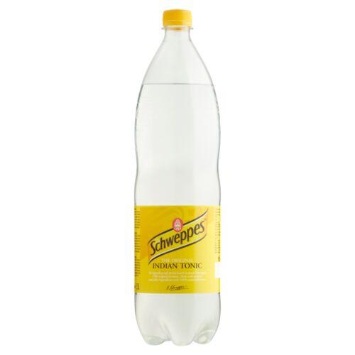 Schweppes Indian Tonic tonic kivonattal készült szénsavas üdítőital 1,5 l