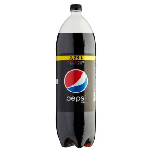Pepsi Max colaízű energiamentes szénsavas üdítőital édesítőszerekkel 2,25 l