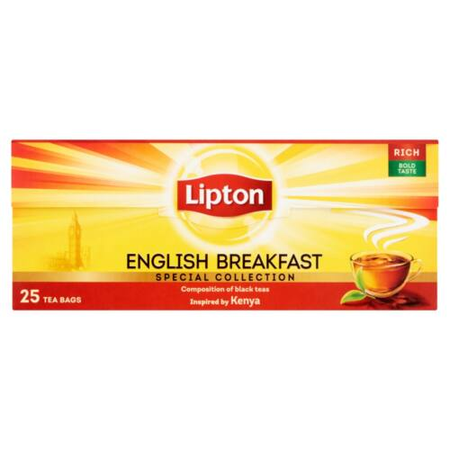 Lipton Special Collection English Breakfast fekete tea 25 filter