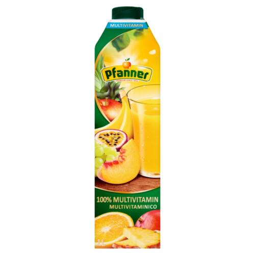 Pfanner 100% multivitamin vegyes gyümölcslé 1 l