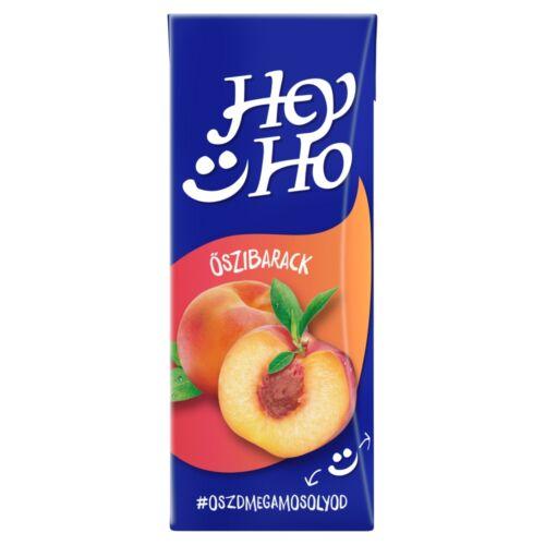 Hey-Ho őszibarack gyümölcsital cukorral és édesítőszerrel 0,2 l