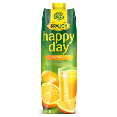Rauch Happy Day 100% narancslé 1 l