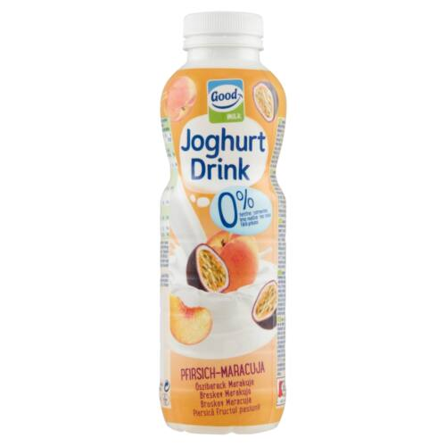 GOOD MILK JOGH.DRINK 0% OSZI-MARACUJ 500ML