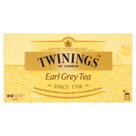 Twinings Earl Grey aromás fekete tea 25 filter 50 g