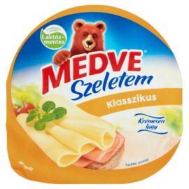 Medve Szeletem Klasszikus natúr, zsírdús, laktózmentes félkemény sajt 125 g