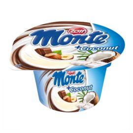 Zott Monte csokoládés és mogyorós tejdesszert kókuszöntettel 150 g
