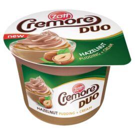 Zott Cremore Duo mogyorós desszert kakaós tejszínhabbal 190 g