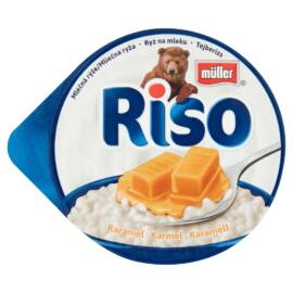 Müller Riso tejberizs desszert karamell készítménnyel 200 g