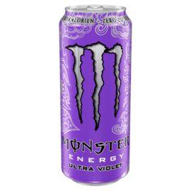 Monster Energy Ultra Violet szénsavas energiaital koffeinnel és édesítőszerekkel 500 ml